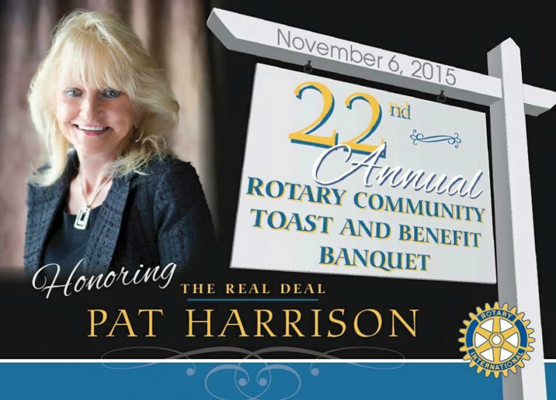 2015 honoree Pat Harrison.