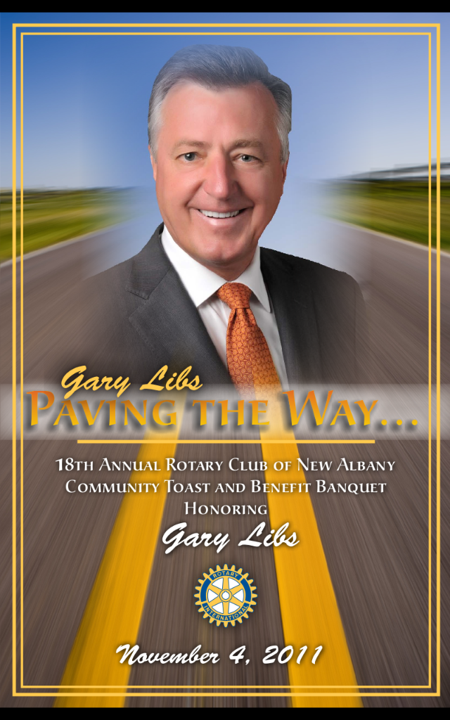 2011 honoree Gary Libs.