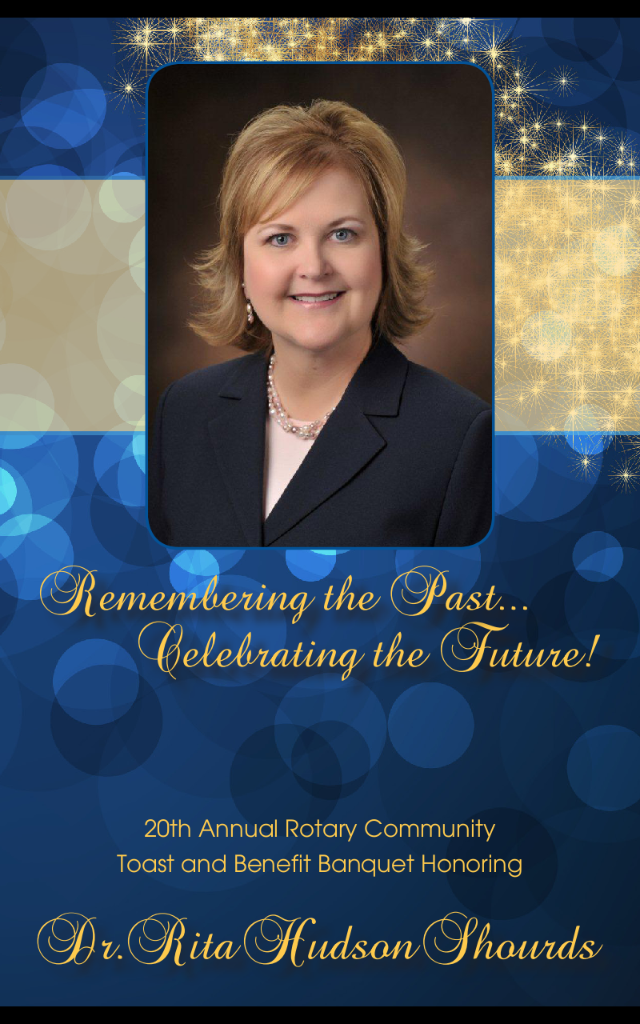 2013 honoree Dr. Rita Hudson Shourds.