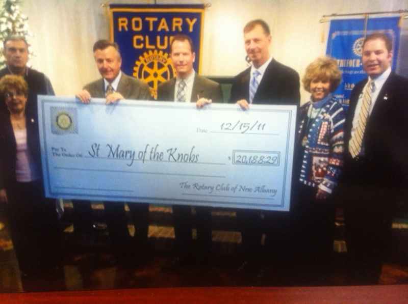 2011 honoree Gary Libs selected St. Mary of the Knobs as the event's charitable beneficiary.