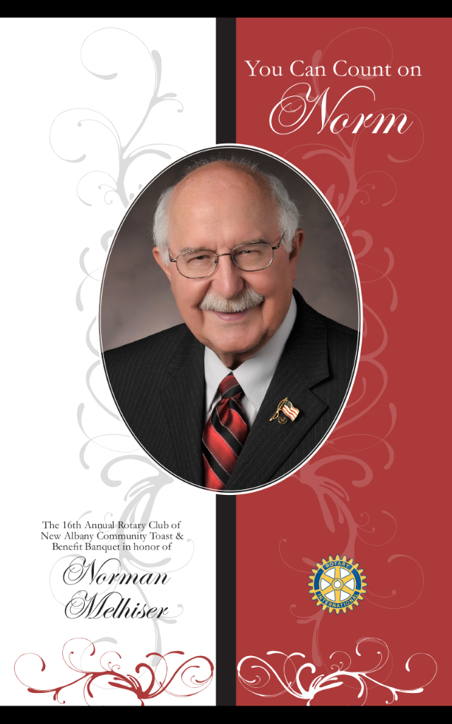2009 honoree Norman Melhiser.