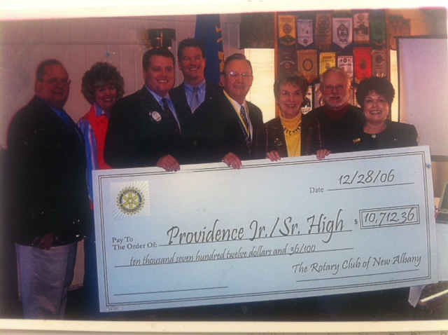 2006 honoree Ray Day selected Our Lady of Providence High School as the event's charitable beneficiary.